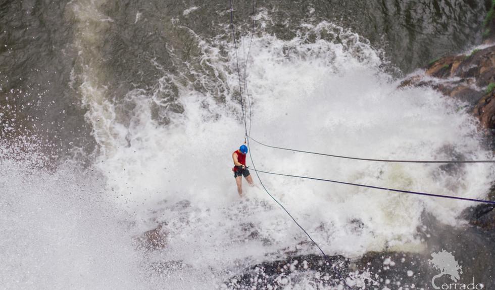 Cachoeira Véu de Noiva Rapel Guiado
