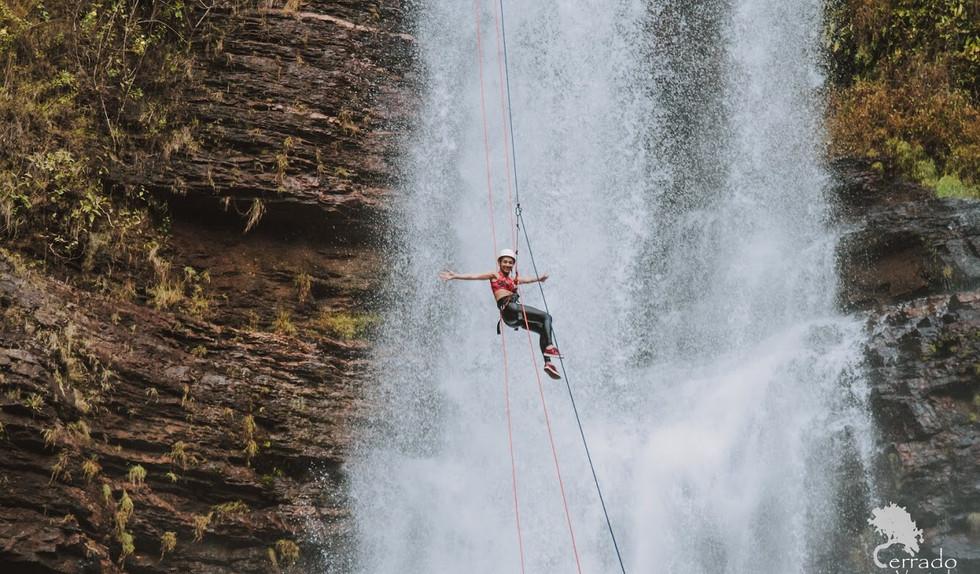 Cachoeira Véu de Noiva Rapel