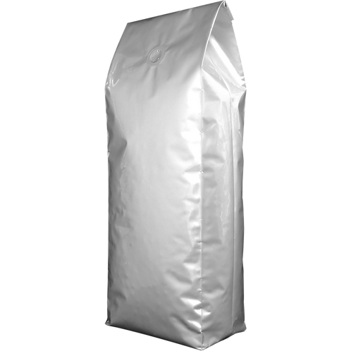 10 x 5kg Silver Side Gusset Bags with Valve