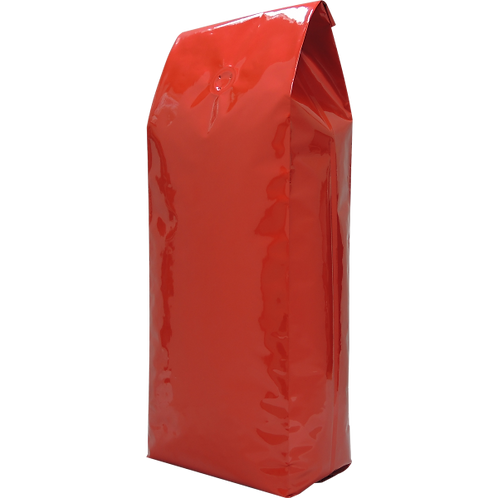25 1kg Red Side Gusset Bags with Valve