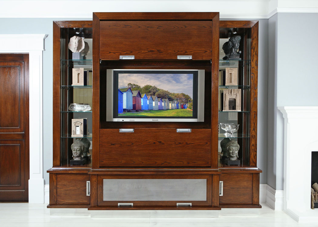 Model No 2400 TV Cabinet Open