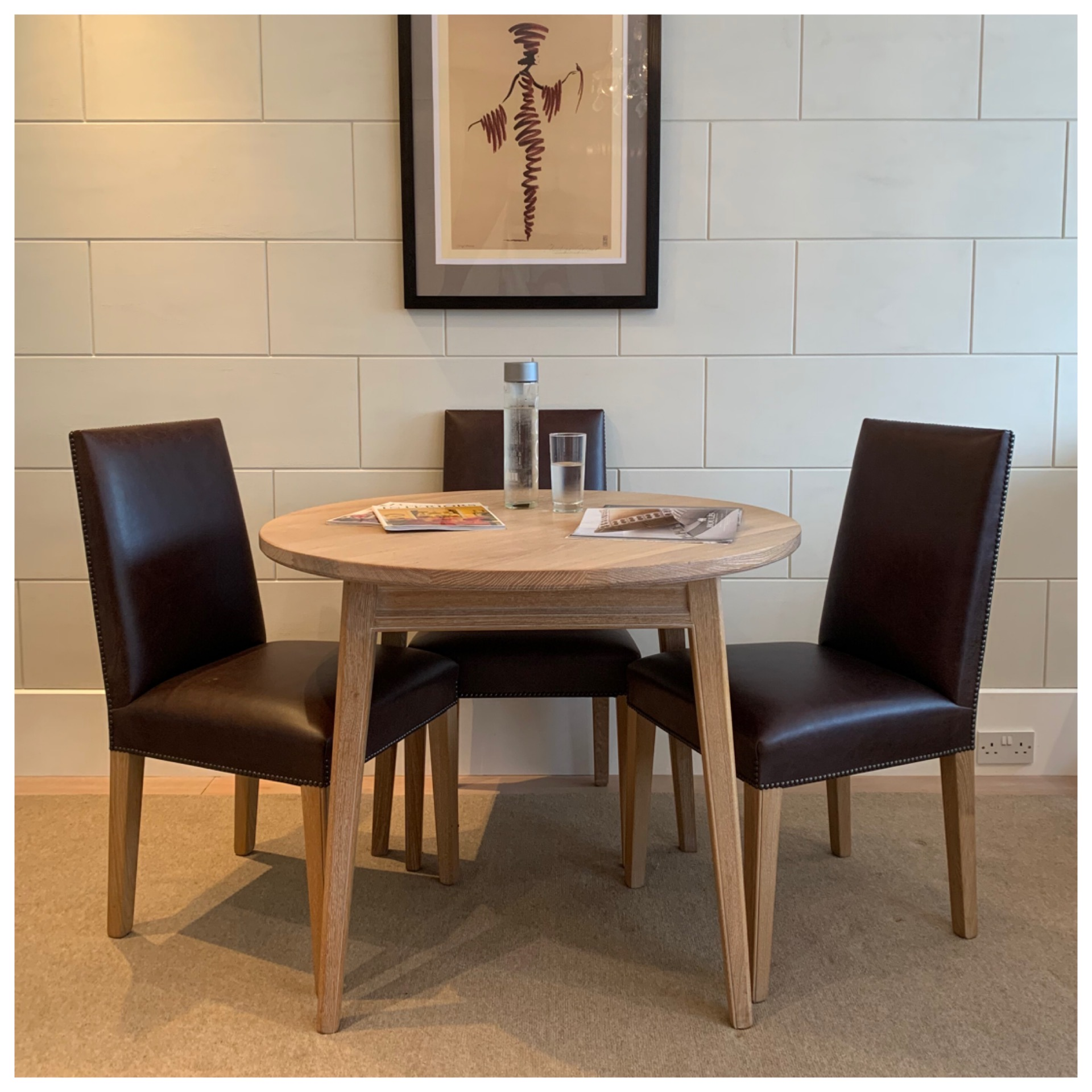 Sale Price: Table £480 Chairs £320 (each)