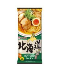 Japanese Instant Noodle with Soy Sauce