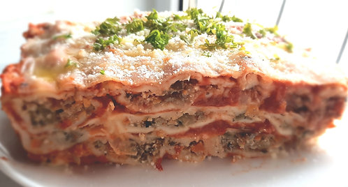Frozen Eggplant Lasagna