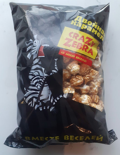 Cinema Popcorn (Sweet Caramel) Crazy Zebra