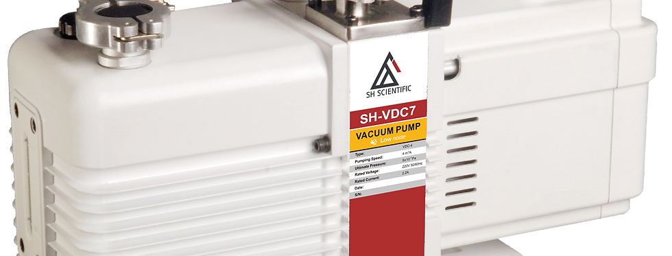 Dual Stage Low Noise Rotary Vacuum Pump VDC7