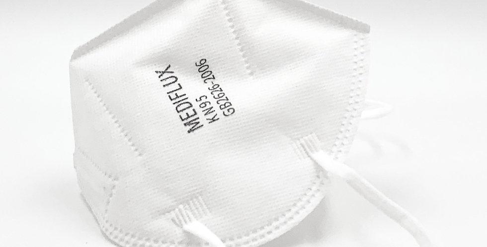 Mediflux KN95 Particulate Respirator MF-01 (1 Pack, no box)