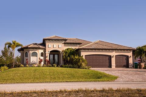 Typical Southwest Florida concrete block