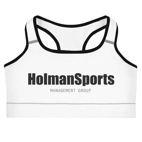 Holman Sports - Women's White/Black Sports bra