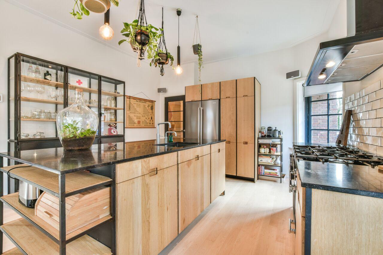 Kastjes Open Keuken : Open keuken met lage kasten kast woonkamer living room room