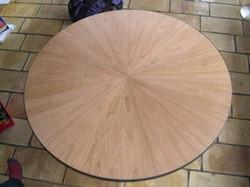 noten fineer houten blad