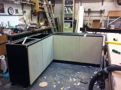 keuken met kops multiplex frontjes