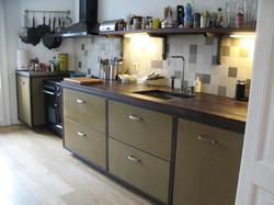 keuken van andere zijde gezien