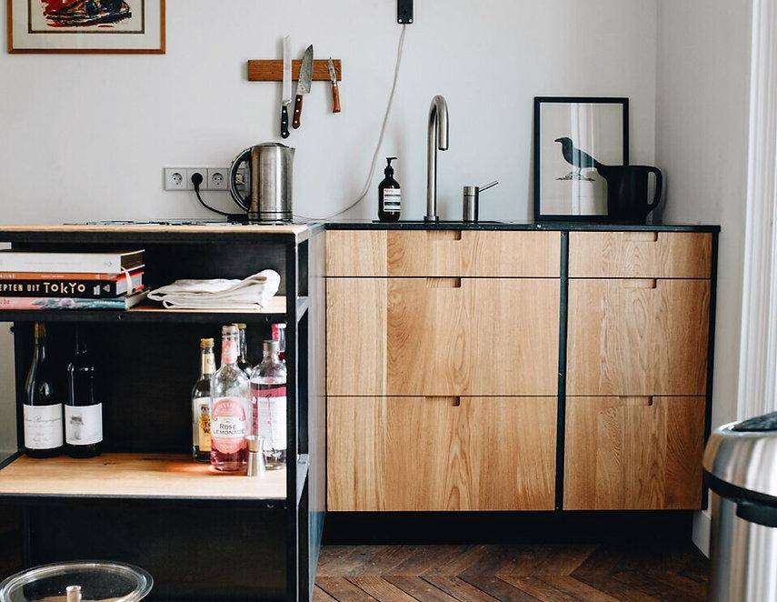Design keukens voor en nadelen van design keukens