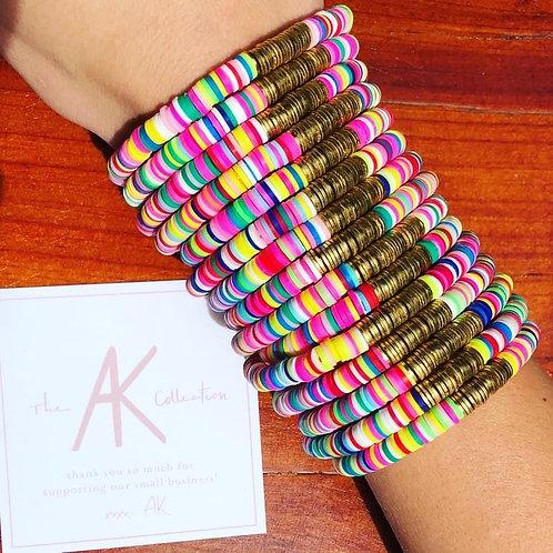 AK Collection Disc Bracelets