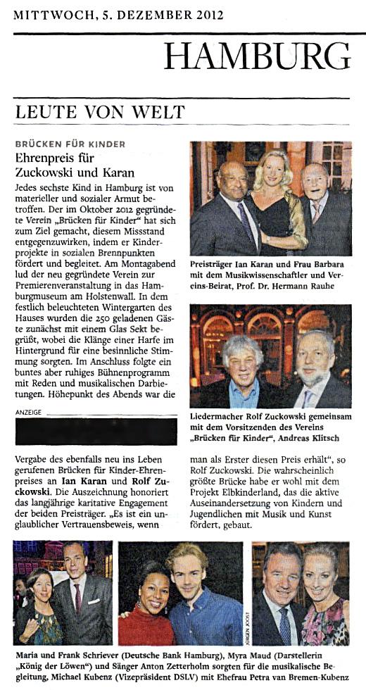 Die Welt, 05.12.2012
