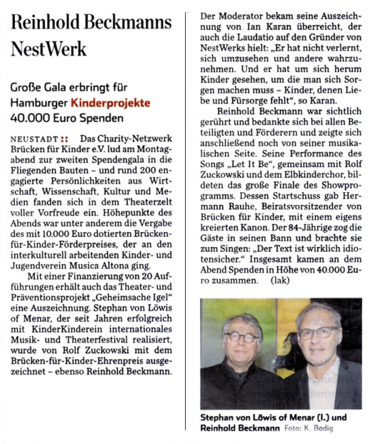 Hamburger Abendblatt, 02.04.2014