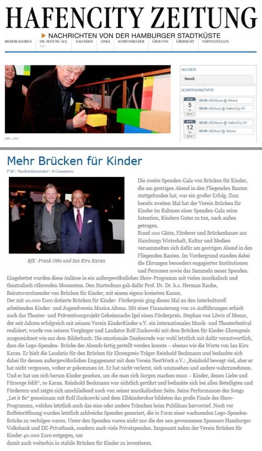 Hafencity Zeitung, 01.04.2014