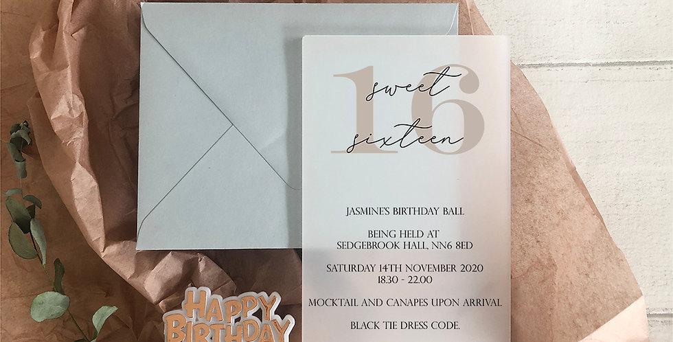 Isobella Invite