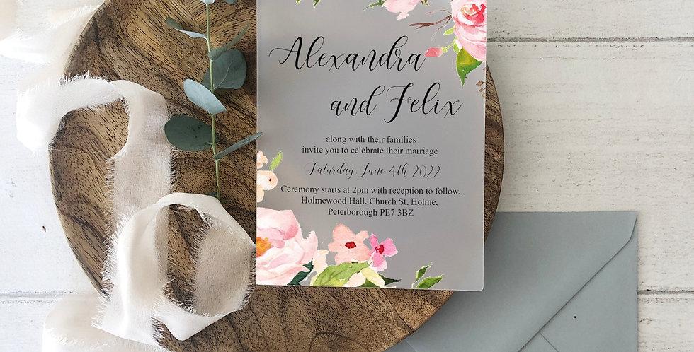 Fleur Invite
