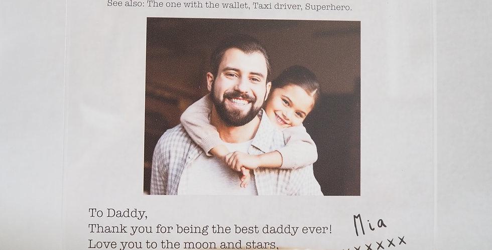 Father photo block