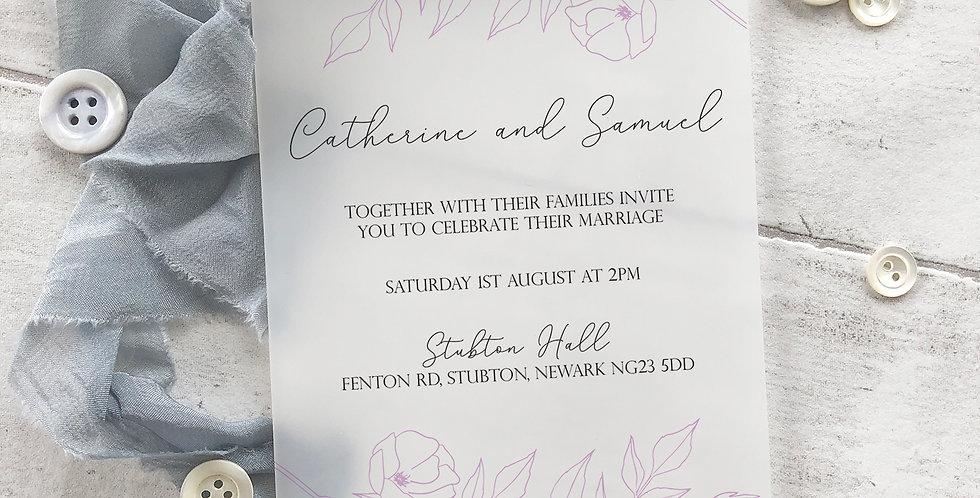 Millie Invite