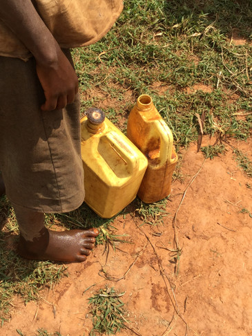 Children and the lack of clean water