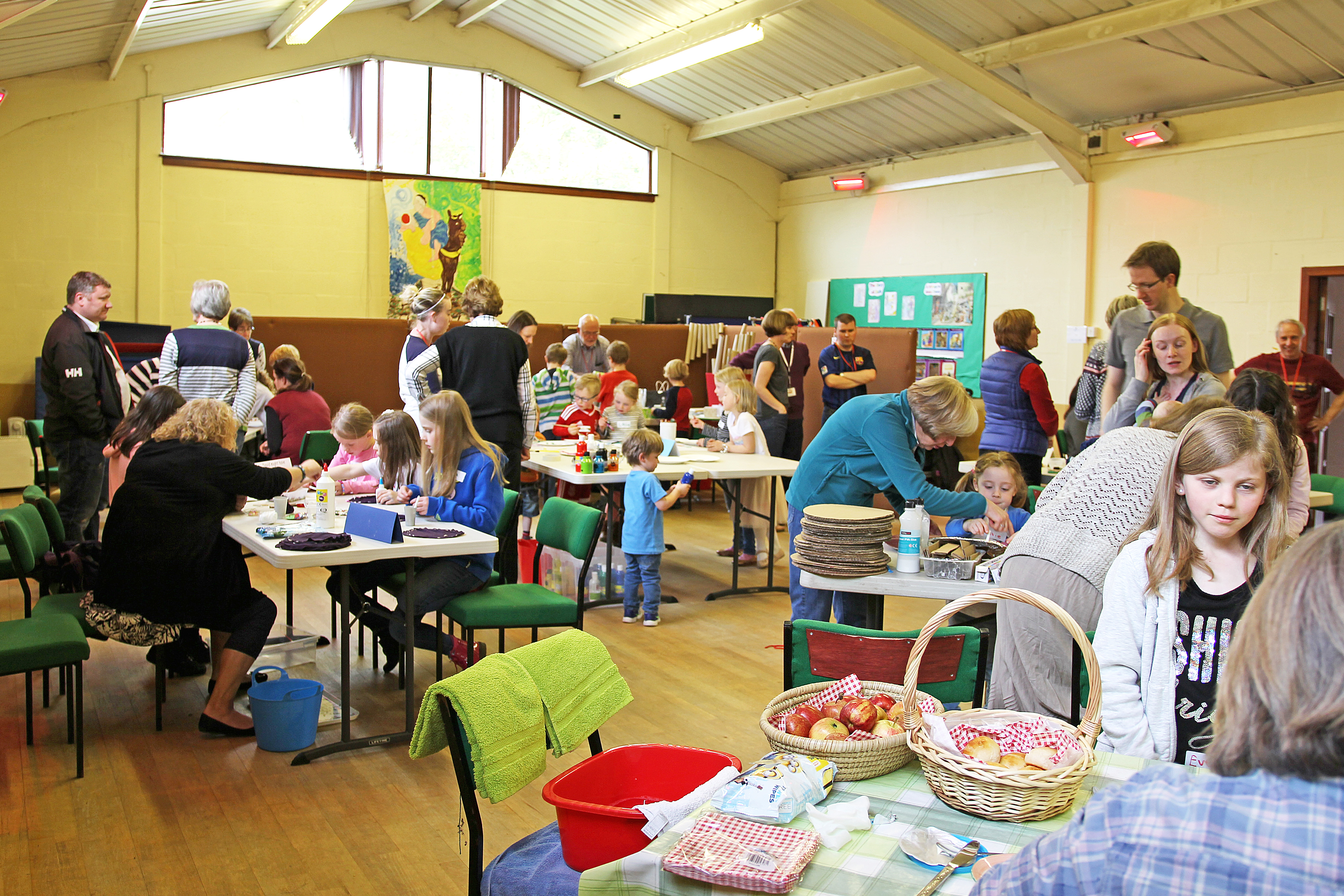 Messy Church Gets Under Way