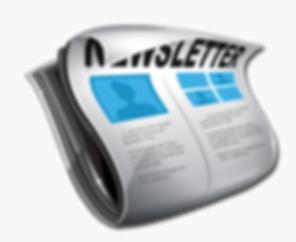 Clipart newsletter logo.