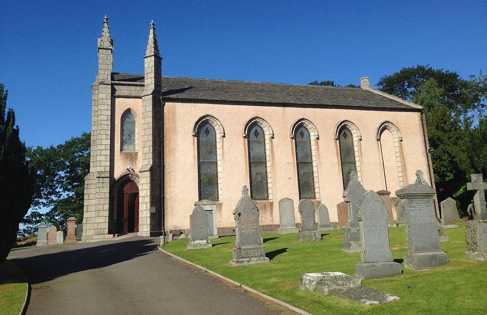 Exterior of Drumoak Church