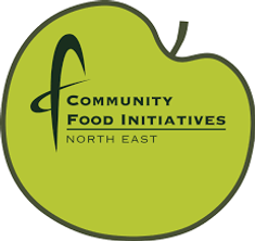 Logo for Community Food Initiatives North East