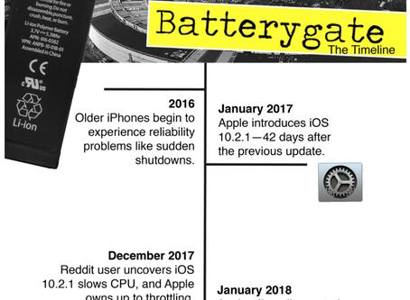 BatteryGate, Battery Throttling or Apple beeing Apple?