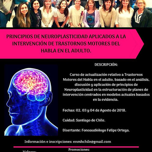 Chile: ENMH Profesionales Agosto 2018