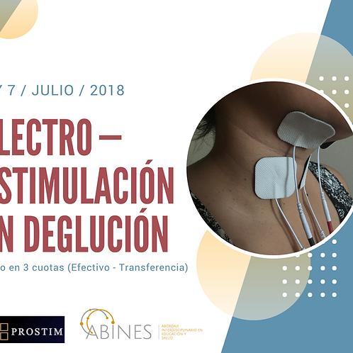 Certificación Electroestimulación Puerto Montt. Pago total