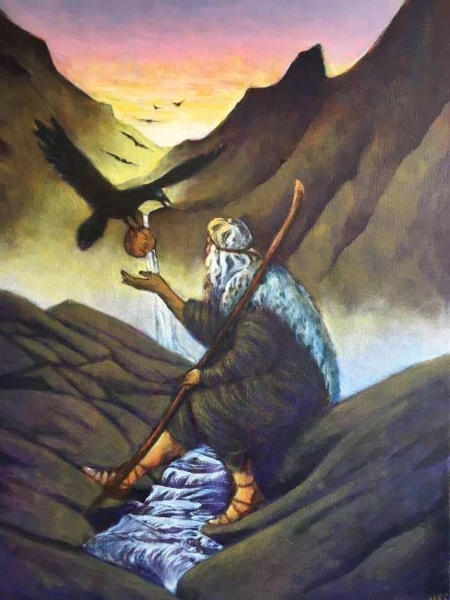 The prophet Elijah - Marianne Mortensen