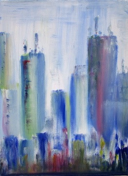 City Scape series - New York (Sold)