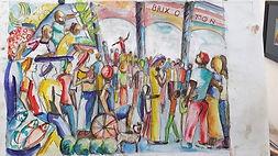 The Preacher Brixton Market - John Bates