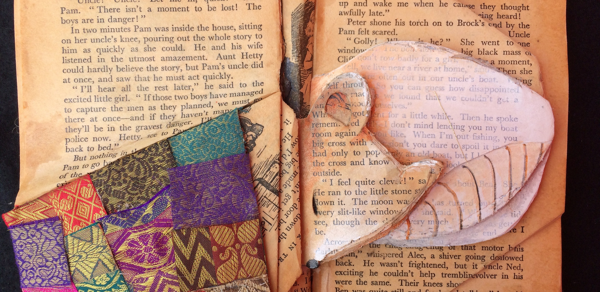 Mouse - book art  (Sold)