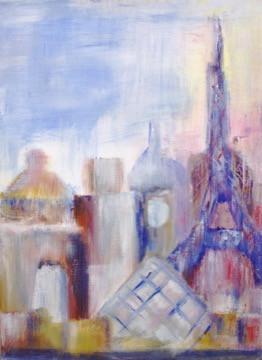 City Scape series - Paris (Sold)