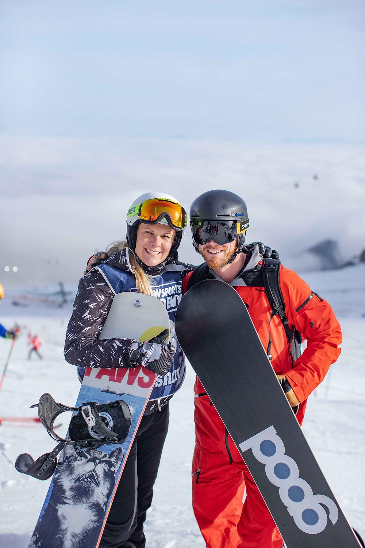 Snowboard Landeslehrer Ausbilder