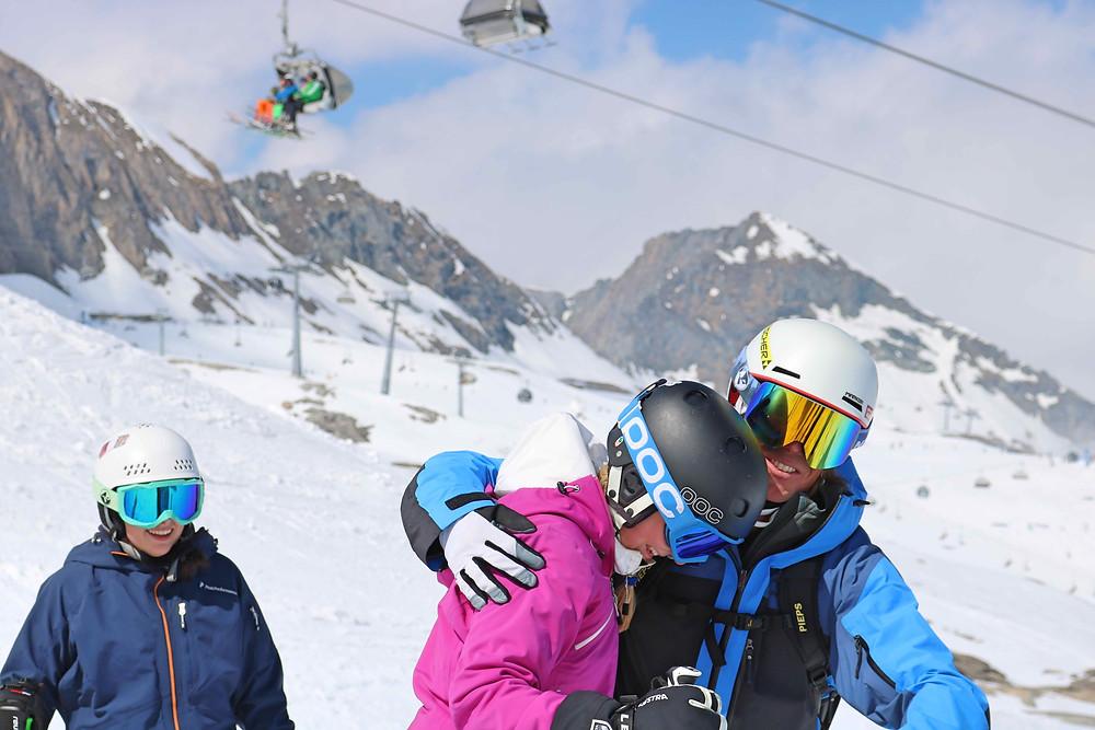 Gute Stimmung Skilehrerausbildung