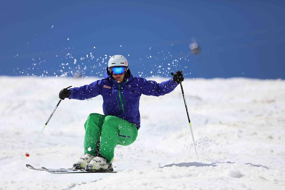 Buckelpisten Training Skilehrer Ausbildung