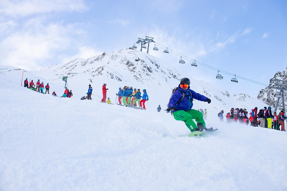 Snowboardlehrer Ausbildung Techniktraining