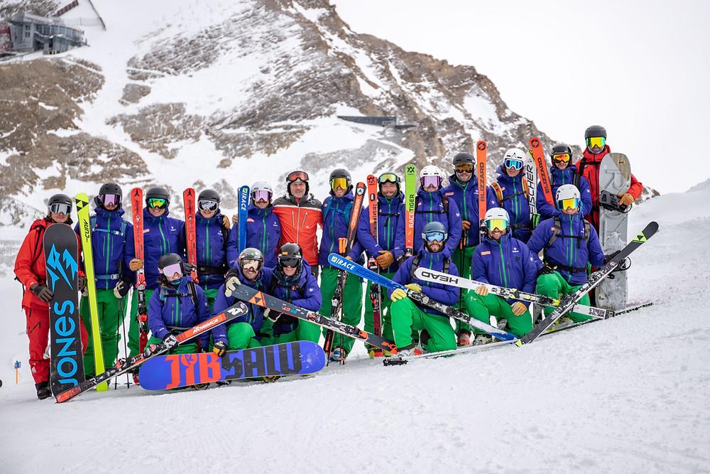 Ausbilder Team der Snowsports Academy