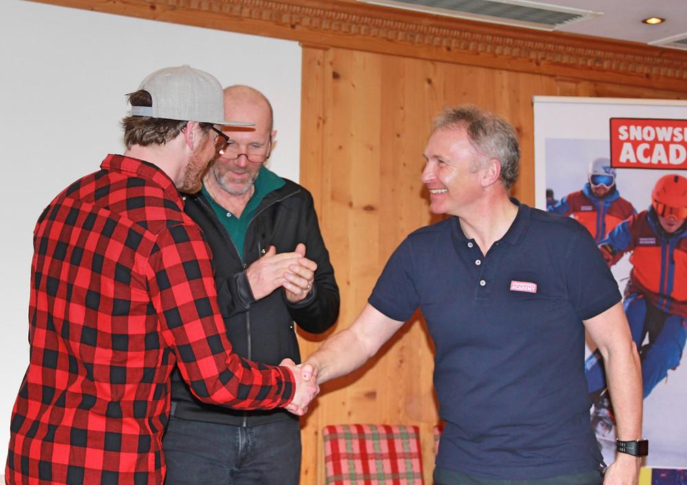Snowsports Academy Ceremony