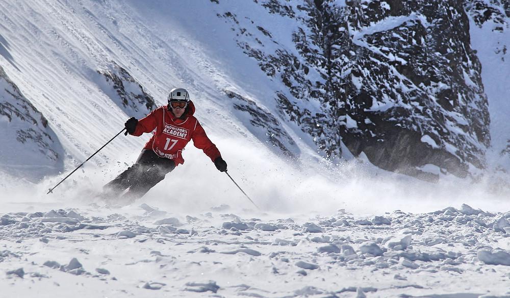 Training ski instructor course
