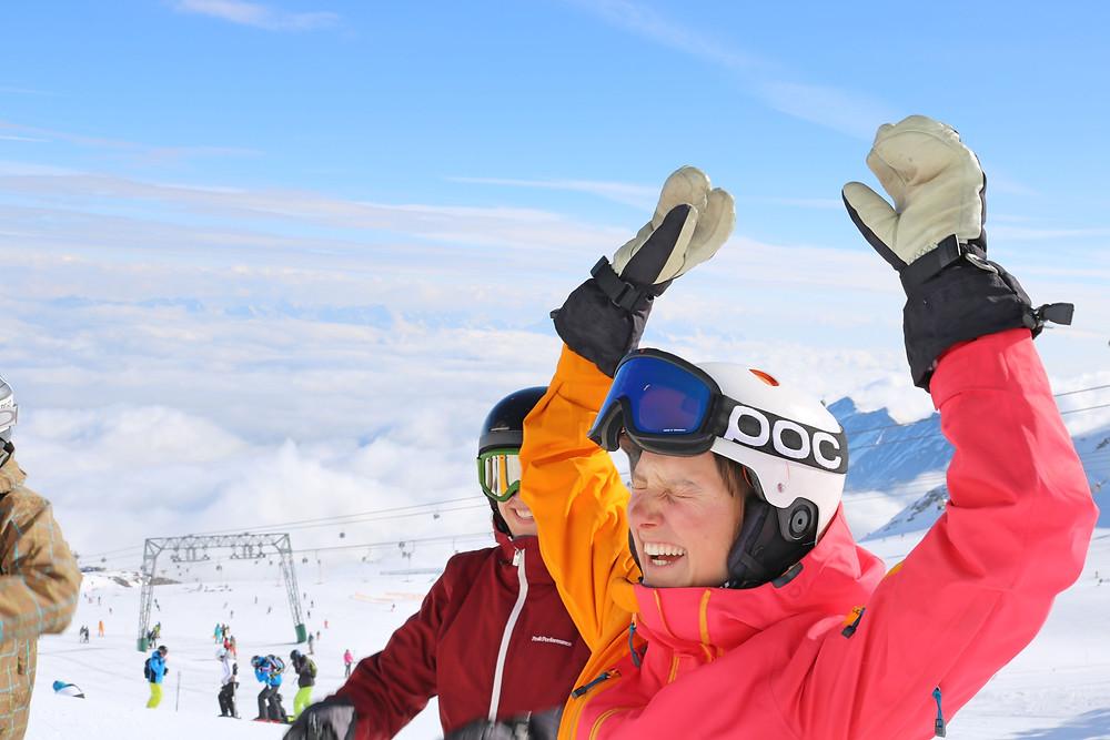 Skilehrer Ausbildung Spaß und Action