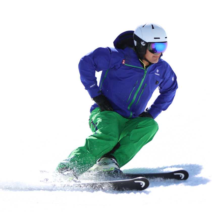 Skilehrer Anwärter Carven