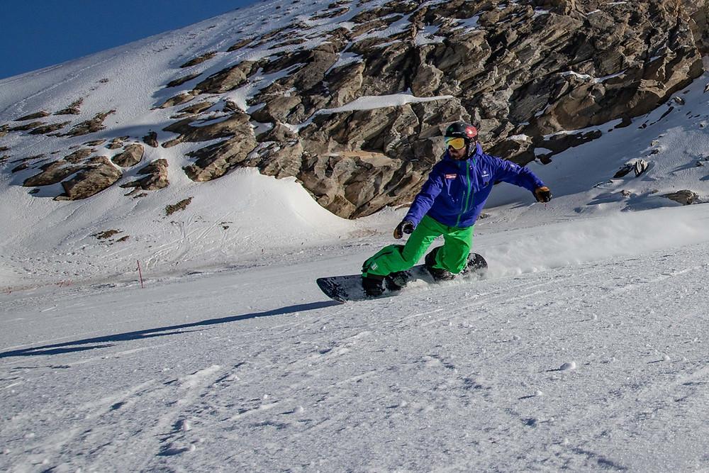 Snowboard Landeslehrer Carven