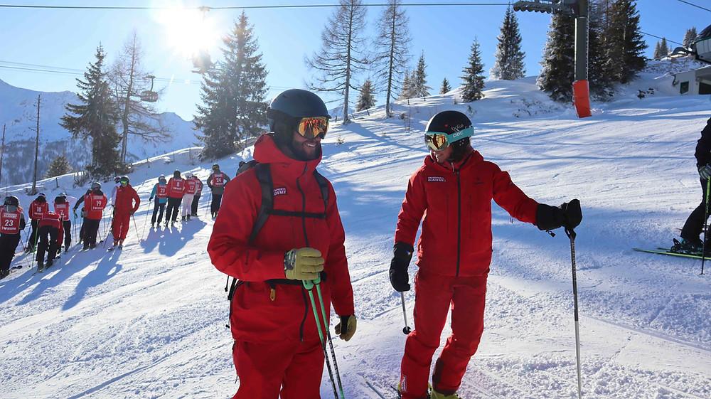Ausbilder Snowsports Academy Skilehrer Ausbildung